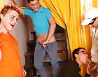 Group masturbation guys and group gay and lesbians fuck at Crazy Party Boys