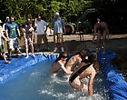 There is nothing like a precious summer time splash, especially when the pool is stud made and ghetto rigged as fuck man