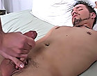 Mike sits up and continues to fool Anthony nutty until he cums all over Mike's hand where to get gay blowjob