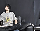 Leo certainly is the definition of emo male pillowing masturbation at Homo EMO!