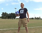 Playing soccer all by himself gay guys fucking big dicks