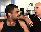 His first huge cock gay interracial monster cock