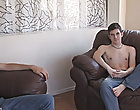 Blake moves over to check commission Evan and help him get his jeans off gay white males hardcore sex at Broke College B