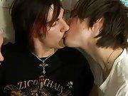 Gay men licking mens feet full of cum and twink gaping at EuroCreme