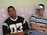 Angel started telling Corey what they were going to do, and that he wanted some head from Corey interracial gay mature