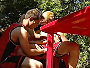 Then its times to two more zealous loads from the other two gay outdoor hunk sex