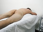 While I was doing this, I fondled his ball sack and was playing with his cock that was getting hard gay jean fetish