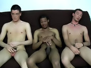 Cole was the final one to share his load with everyone, and he did so all over his hand free interracial gay movies