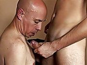 Look how the older dude here enjoys the sight of a semi-naked twink true in front of him in the locker leeway mature gay nude