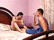 Sometimes it is fun to call up your buddy when your cock is hard and you've been touching it gay men first time sex
