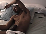 You tease to see the cumshot to feel it, but half of it doesn't even settle on on his body; it shoots way past him black gay male porn stars