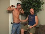 After hitchhiking and fucking his way across the country Jason finally has a chance to make some real money gay blond twinks cum