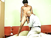 In good time, both rushed to the older lover's cell nearby where the boy proceeded to pound the wrinkled ass silly mature asian male nude photo