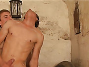 Erik bounces on him, letting Louie thrust it sincere into his ass gay blowjob gloryhole pic
