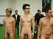 but that didn't stop these frat boys from finishing their initiation ritual group gay and lesbians fuck