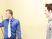 Jesse Jordan and Alex Andrews come to an agreement over renting office space, but it isn't until they both cum that the deal is done gay twink wa