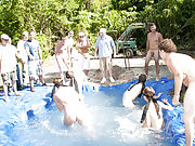 There is nothing like a nice summer time splash, especially when the pool is man made and ghetto rigged as fuck gay 69 yahoo groups