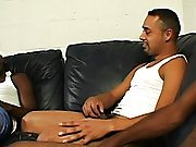 Once he started sucking dick, though, he dropped his pants and let us de-virginize his miserly ass muscle black gay men