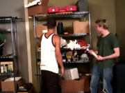His first gay sex interracial gay cock