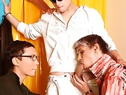You friend will cum to help you gay  group at Crazy Party Boys