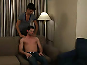 When the slip finally started, Johnny couldn't hiatus to cast off his cock balls-deep into newcomer Mateo's fresh ass, and stop his big bone