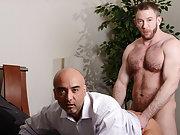 Gay muscular man piss and rim and fist and fucking hot penis pic at My Gay Boss