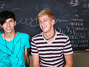 Jae has an idea; he wants his throbbing cock sucked by Kayden's skilled mouth teen twink nudists gay at Teach Twinks