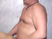 The cock slipped into the OK-lubed hole, and the real fun began mature male escort kansas city