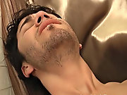 The licking and sucking continued until Austin inhibit handled his way pushing Aiden up and exposing his hot ass free gay cum eaters