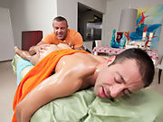Wassup Fellas, Trace Micheals here bringing another one of my expert level treatment massages raw gay bear sex