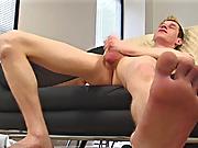 Jake strokes his cock straight male masturbatio
