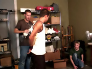 His first gay sex interracial gay video