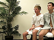 Jesse Jacobs and Tyler Bradley are two young naive men who are waiting for the doctor to succeed watersports gay twinks