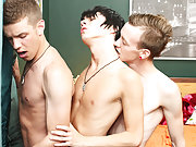 Chris Jett joins BoyCrush exclusives Kyler Moss and Ryan Sharp in one of the hottest, stickiest threesomes to appear on the site in a long while his f