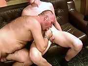 The loving lackey did not mind having his burning asshole plundered with some old beef after receiving such a generous blowjob free mature gay porn