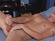 Taylor plays with his balls and strokes that incredible hot cock of his masturbation of gay