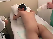 The doctor took a look up my ass and thought that he had seen something stories of first gay sex