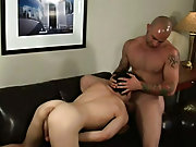 The pain on Kyle's face is palpable but his elastic asshole takes it's first huge cock ball-deep and lives to tell the gossip back that ass
