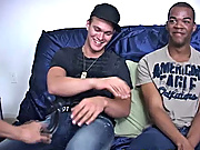Switching things up I had them drop the other way on the couch gay tgp interracial