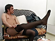 Then it's time to clothe his round buttocks into something really cute and lacy video men masturbation