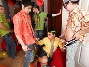 Five dicks will taste his bum principal financial grou at Crazy Party Boys
