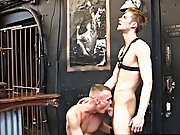 When they feast on these truly delicious looking white cocks their defined pectorals heave and expand, pushing out the straps of the leather harness t