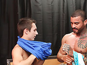 When he is through, Alexsander drags Jacobey over to shoot his sperm on his face anal sex with a hores man at I'm Your Boy Toy